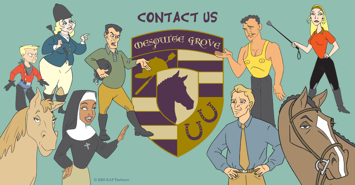 Contact Us Banner - Mesquite Grove